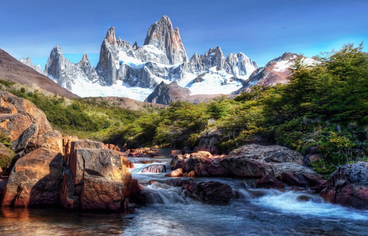 Aprende a pintar un paisaje como pintar un paisaje - Paisajes nevados para pintar ...