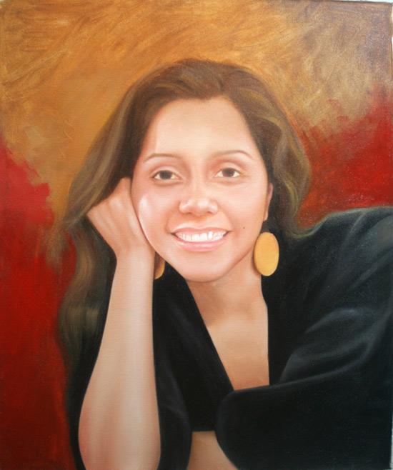 Aprende a pintar retratos paso a paso clases de pintura - Retrato oleo paso a paso ...